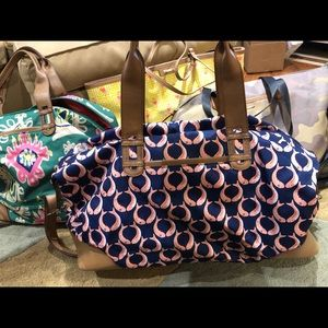 EUC Stella & Dot duffle bag